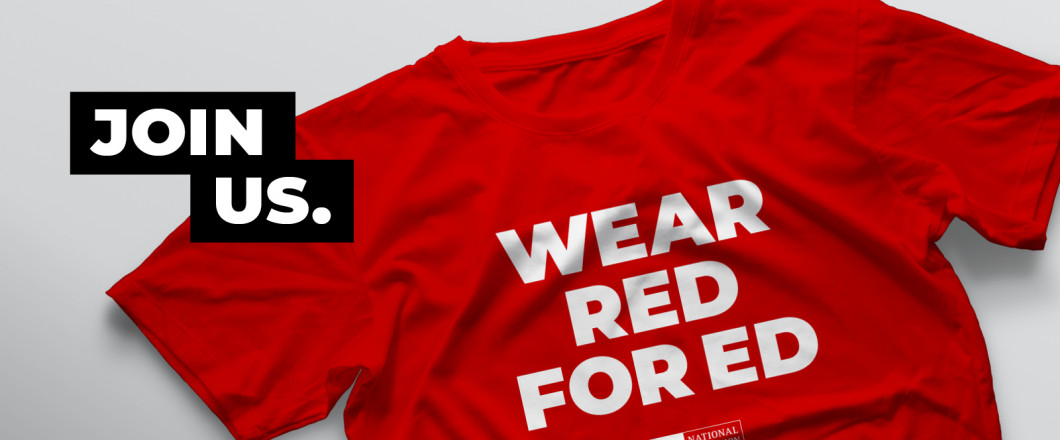 Join the #RedForEd Campaign!