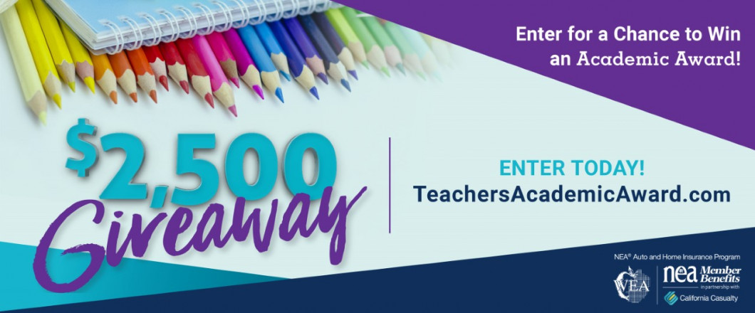 Enter to Win an Academic Award